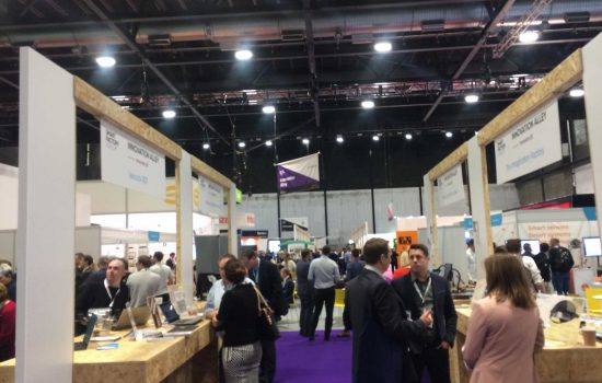 Innovation Alley at the Smart Factory Expo is pictured - image courtesy of TM.