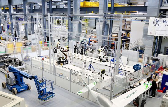 """The National Composites Centre (NCC) say the iCAP programme """"will bring composites into the digital age, increasing production rates and quality while improving efficiency and reducing cost"""" – image courtesy of HVMC."""