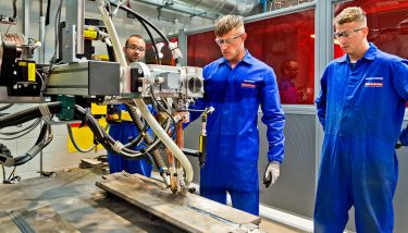 The new BAE Systems training academy is expected to provide bespoke training for 9,000 people, including 800 apprentices – image courtesy of BAE Systems.