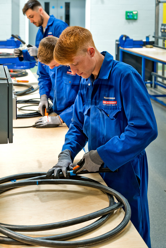 The Education Secretary said vocational courses suffer the O.P.C. problem - the perception they're for 'Other People's Children' - image courtesy of BAE Systems.