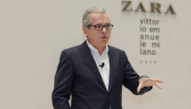 Pablo Isla, Inditex chairman and CEO - image courtesy of Inditex