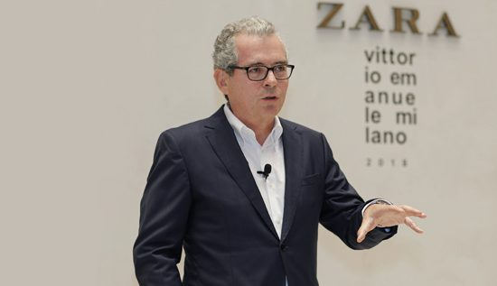 Pablo Isla, Inditex chairman and CEO - image courtesy of Inditex