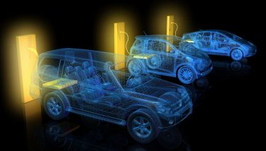 BEV - Automotive charging points electric and hybrid vehicles batteries thermal runaway – shutterstock image.