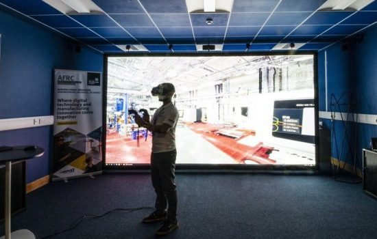 The new centre will aim to integrate and offer fully-immersive virtual and augmented reality technologies – image courtesy of AFRC.