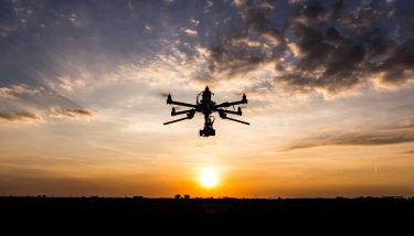 Drones are unmanned aerial vehicles - image courtesy of Depositphotos.