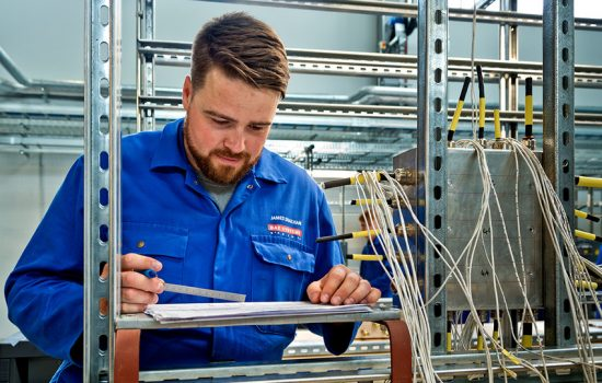 BAE Systems plans to recruit 700 new apprentices in 2019. Some will have the opportunity to work on the Typhoon and F-35 projects - image courtesy of BAE Systems.