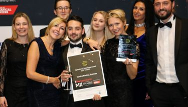 Domino Printing Services at The Manufacturer MX Awards 2018 - image courtesy of The Manufacturer.