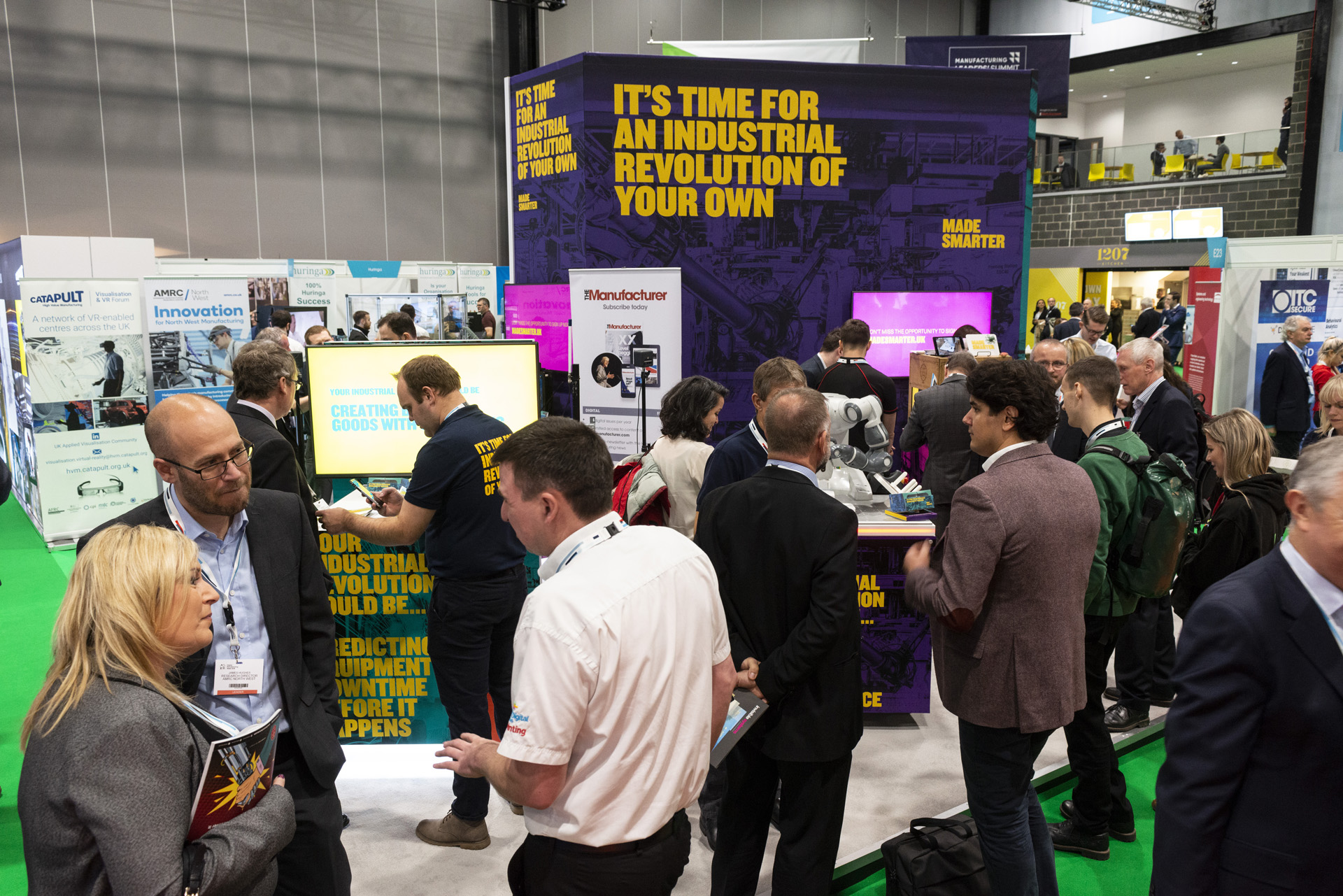 Made Smarter North West Pilot was launched at Digital Manufacturing Week.