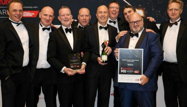 Renishaw at The Manufacturer MX Awards 2018 - image courtesy of The Manufacturer.