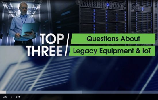 PTC Digital Briefing - Video Grap - Top three questions to ask about your legacy equipment & IoT solutions