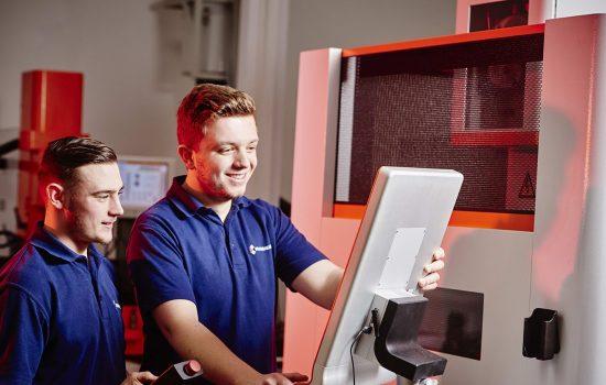 Apprentices at Brandauer - image courtesy of Brandauer.