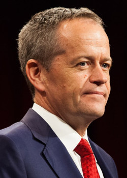 Labor leader Bill Shorten sml - image courtesy of Ross Caldwell CC BY-SA 4.0 (httpscreativecommons.orglicensesby-sa4.0), from Wikimedia Commons