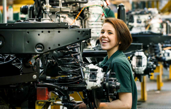 Career in Manufacturing - image courtesy of Jaguar Land Rover