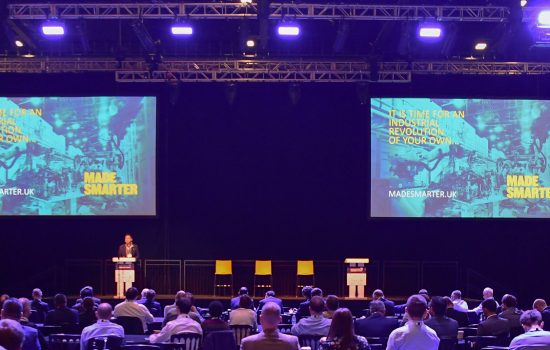 Manufacturing Leaders Summit 2018 - image courtesy of The Manufacturer.