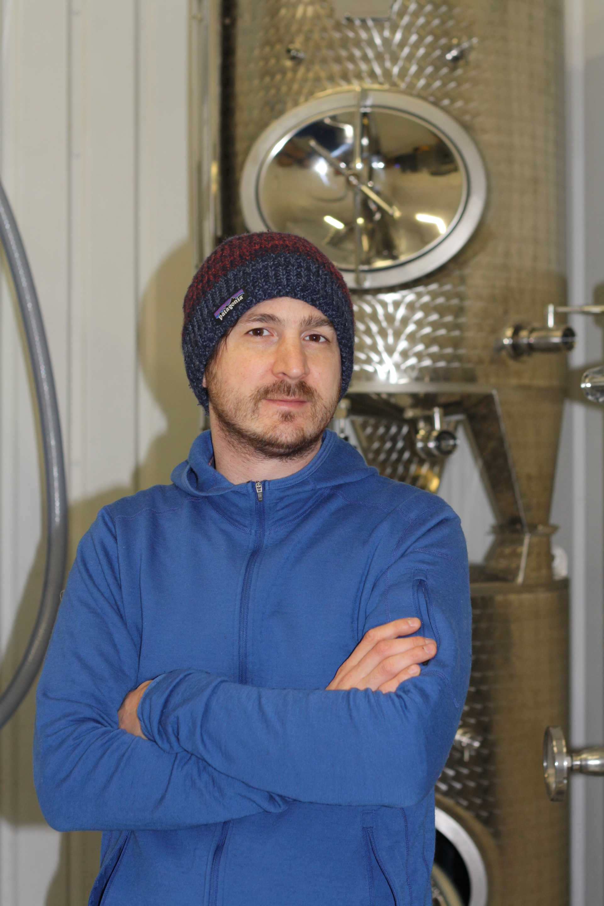 Urban wine producer Sergio Verrillo is pictured - image courtesy of Blackbook.
