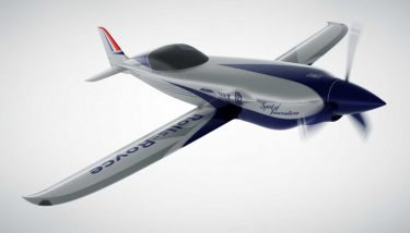 Hybrid aircraft - Rolls-Royce is building a high-performance electric aircraft - image courtesy of Rolls-Royce.