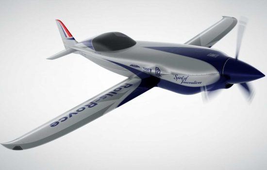 Rolls-Royce is building a high-performance electric aircraft - image courtesy of Rolls-Royce.