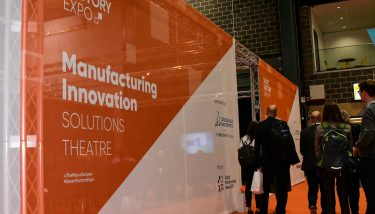 Smart Factory Expo 2018 - 'Manufacturing Innovation' solutions theatre, sponsored by Dassault Systémes - image courtesy of The Manufacturer.