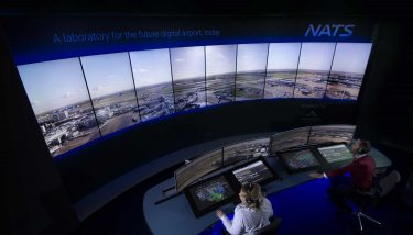 Heathrow's third runway The project combines ultra HD 4K cameras with AI - image courtesy of NATS.