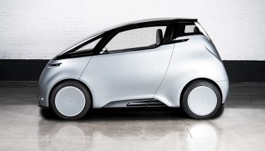 Uniti One, the prototype for a 100% electric, affordable city car – image courtesy of Uniti.