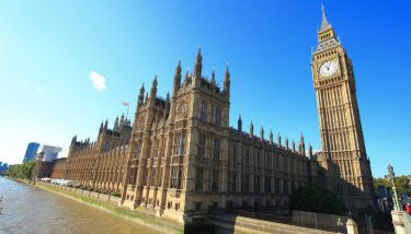 Big Ben and Houses of Parliament London Government - image courtesy of Depositphotos.