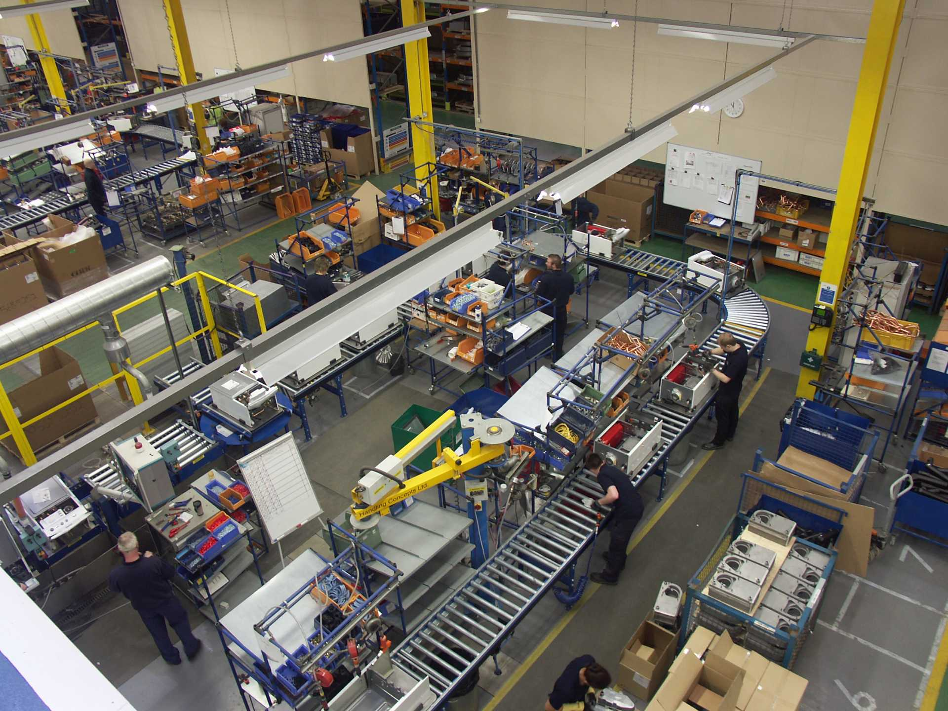(Picture) Baxi's Preston factory - Baxi Heating are Britain's largest producer of electric water heaters and water cylinders. They are moving production from their Norwich site to Preston.