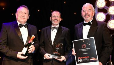 Tharsus at The Manufacturer MX Awards 2018 - image courtesy of The Manufacturer.