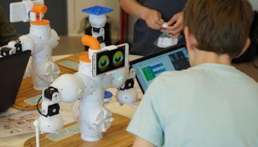 Digital skills shortages are increasing - image courtesy of Shape Robotics.