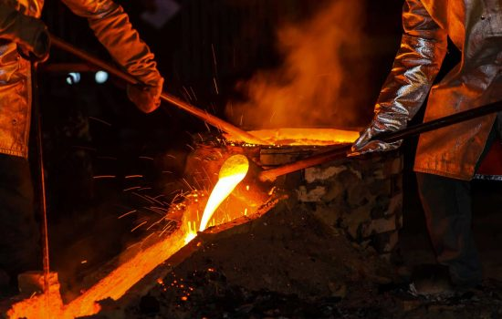 The UK steel industry employs 32,000 people - image courtesy of Depositphotos.
