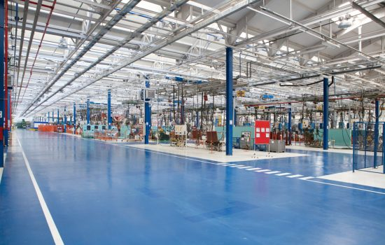 On the path to a clean and efficient manufacturing floor - stock image courtesy of APS