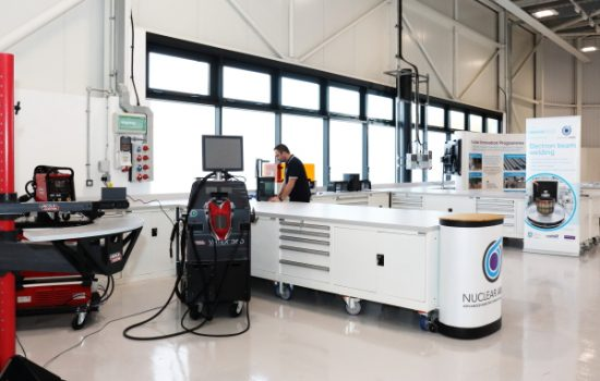 The Derby Nuclear Advanced Manufacturing and Research Centre - image courtesy of NAMRC.