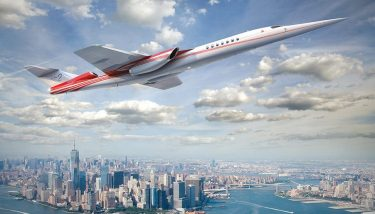 Aerion plans to launch the next supersonic jet - image courtesy of Aerion. amazon