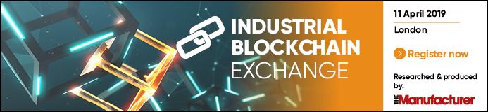 Industrial Blockchain Exchange 2019 - The Manufacturer Banner
