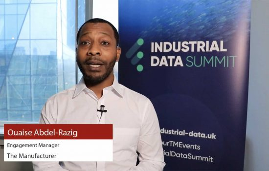 Why should you be attending Industrial Data Summit 2019 - The Manufacturer's Engagement Manager, Ouaise Abdel-Razig.
