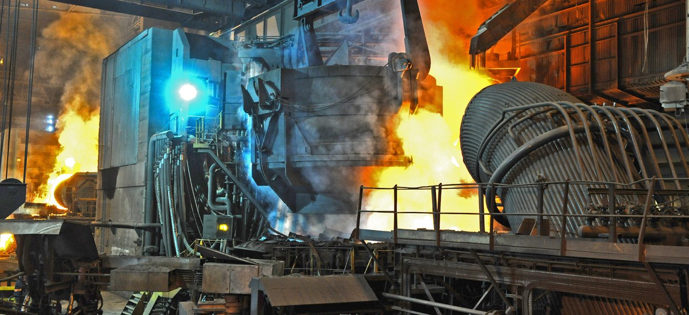 FULL WIDTH CROP - Liberty's electric arc furnace in Rotherham - image courtesy of Liberty House.