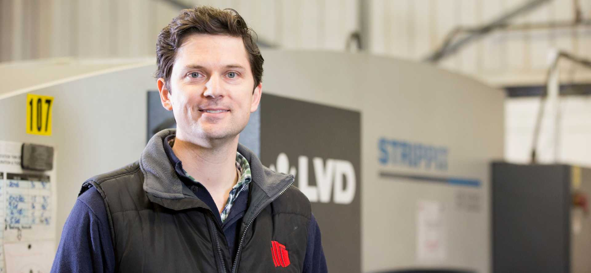 Troy Barratt CEO Contracts Engineering - Locate in Kent
