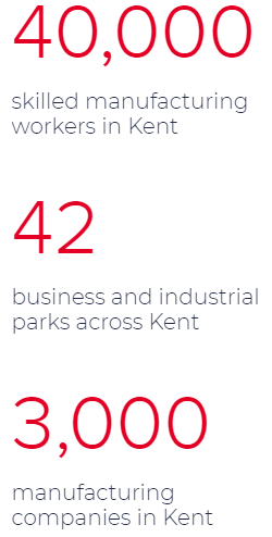 Locate in Kent - Kent based manufacturers manufacturing