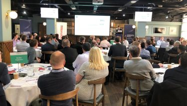 The sold-out Manufacturing Automation and Robotics Summit gathered together 80 senior manufacturing executives - image courtesy of The Manufacturer.