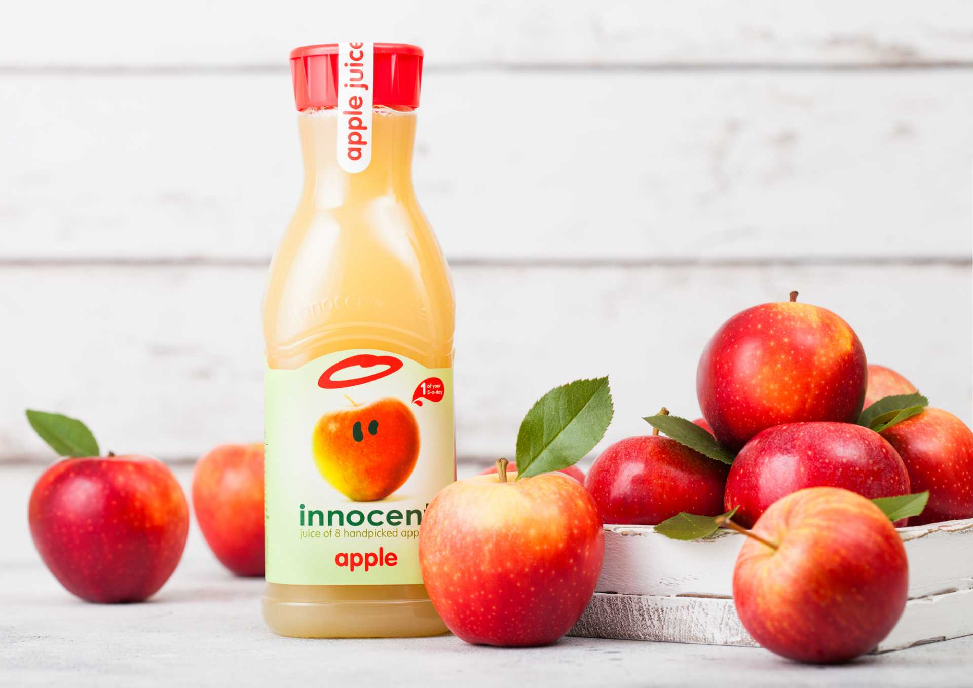 Innocent smoothies is a B Corp business - image courtesy of Depositphotos.