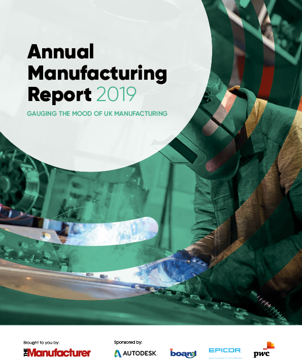 Annual Manufacturing Report 2019 - Front Cover