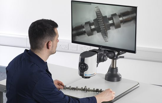 Transforming the microscope – image courtesy of Vision Engineering.