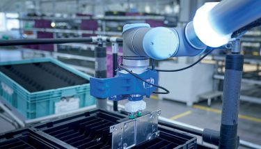 BMW Supply Chain - Pickbots will develop AI-driven memory to distinguish between 50,000 separate parts - image courtesy of BMW Group.