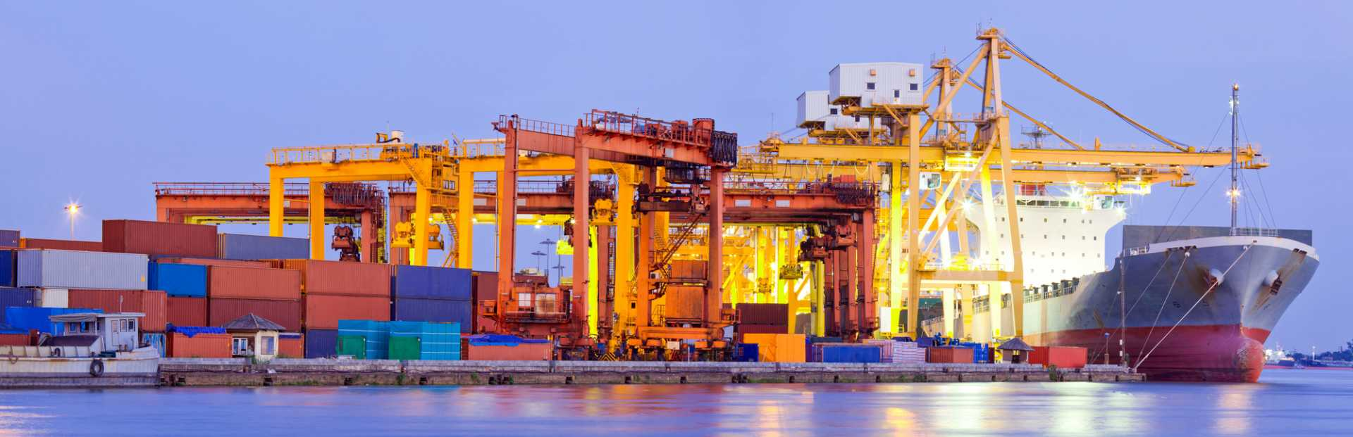 Port Terminal Panorama Industry Global Trade Exports Economy Supply Chain Stock - image courtesy of Depositphotos.