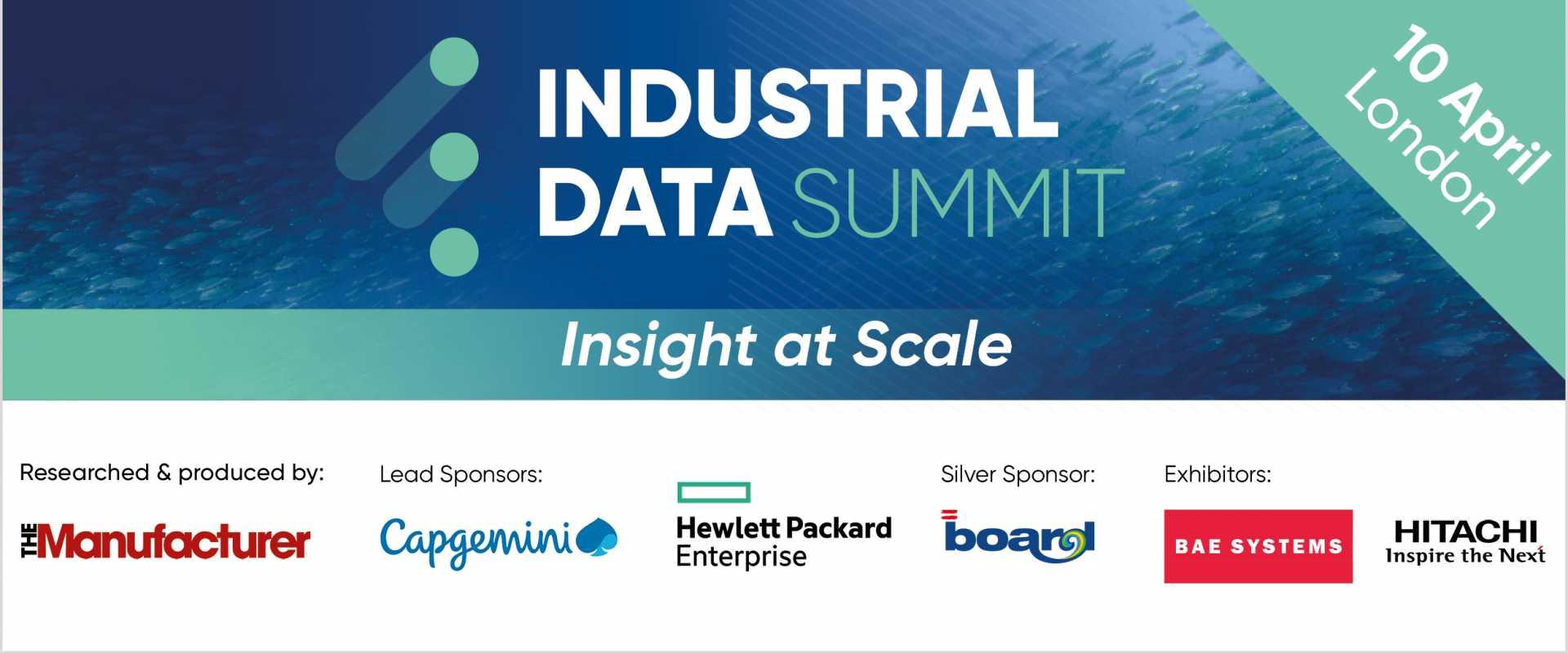 Digital Transformation - Industrial Data Summit 2019 - March Banner