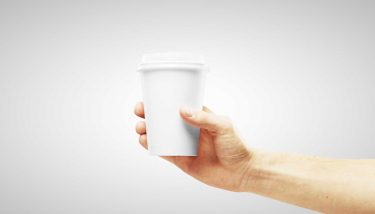 Ismail has created coffee cups with smart coatings using the sol-gel process - image courtesy of Depositphotos.