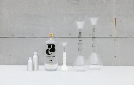 Milk is being turned into vodka in Dorset - image courtesy of Black Cow Vodka.