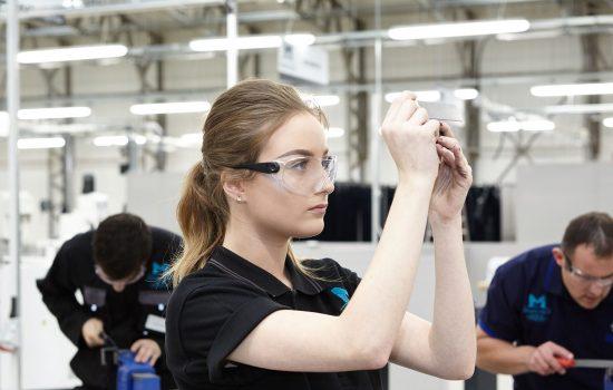 MCMT Apprentices (L2) skills people