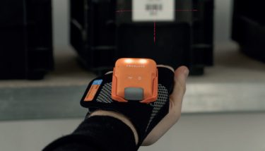 ProGlove's MARK barcode scanner has been designed to work naturally and intuitively with the operator – image courtesy of ProGlove.