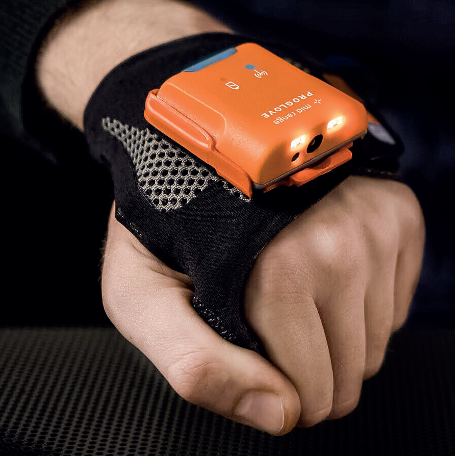 ProGlove's hands-free scanner – the MARK - is an example of a plug-and-play solution - image courtesy of ProGlove.