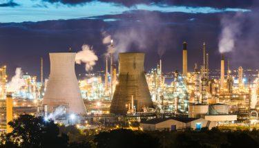 The Grangemouth Refinery, Scotland - image courtesy of APS